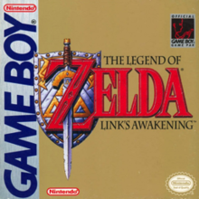 Cover art for Link's Awakening on Nintendo Game Boy