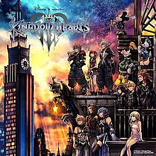 Kingdom Hearts 3 box art