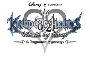 Logo for Kingdom Hearts 0.2 Birth by Sleep -A fragmentary passage-