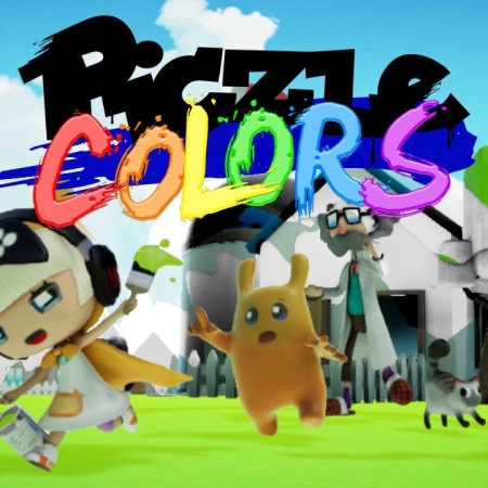 Piczle Colors title screen on Nintendo Switch