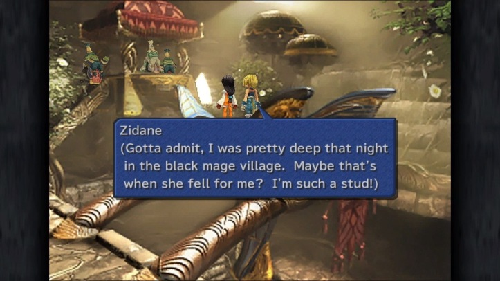 Screenshot from Final Fantasy IX