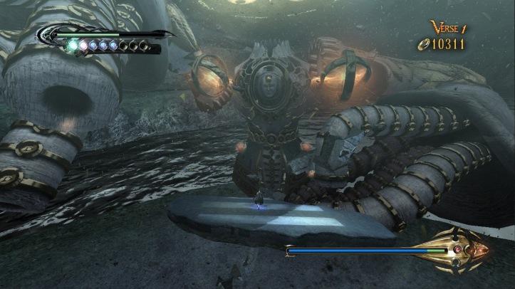 Screenshot from Bayonetta