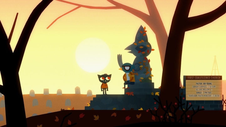 Screenshot from Night in the Woods