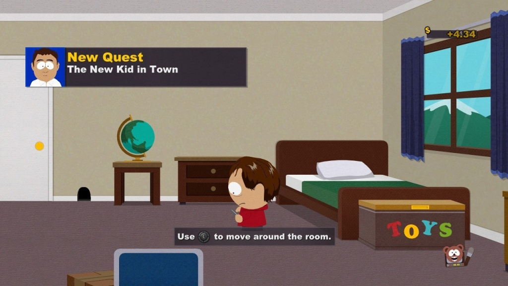 Screenshot from South Park: The Stick of Truth on Nintendo Switch